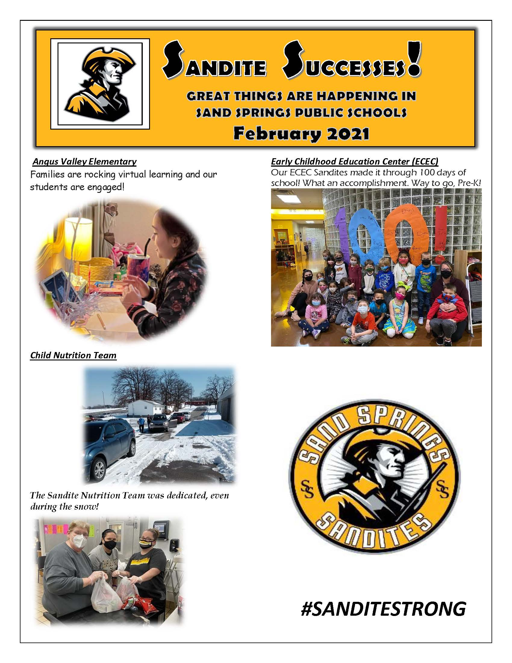 Sandite Successes Pg. 1 02-2021