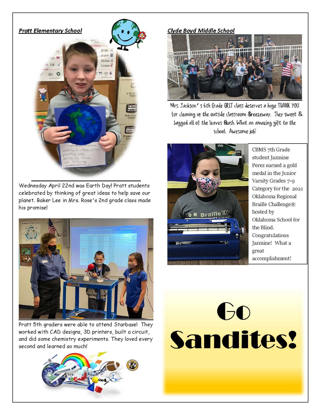 Sandite Successes Pg. 2 04-2021
