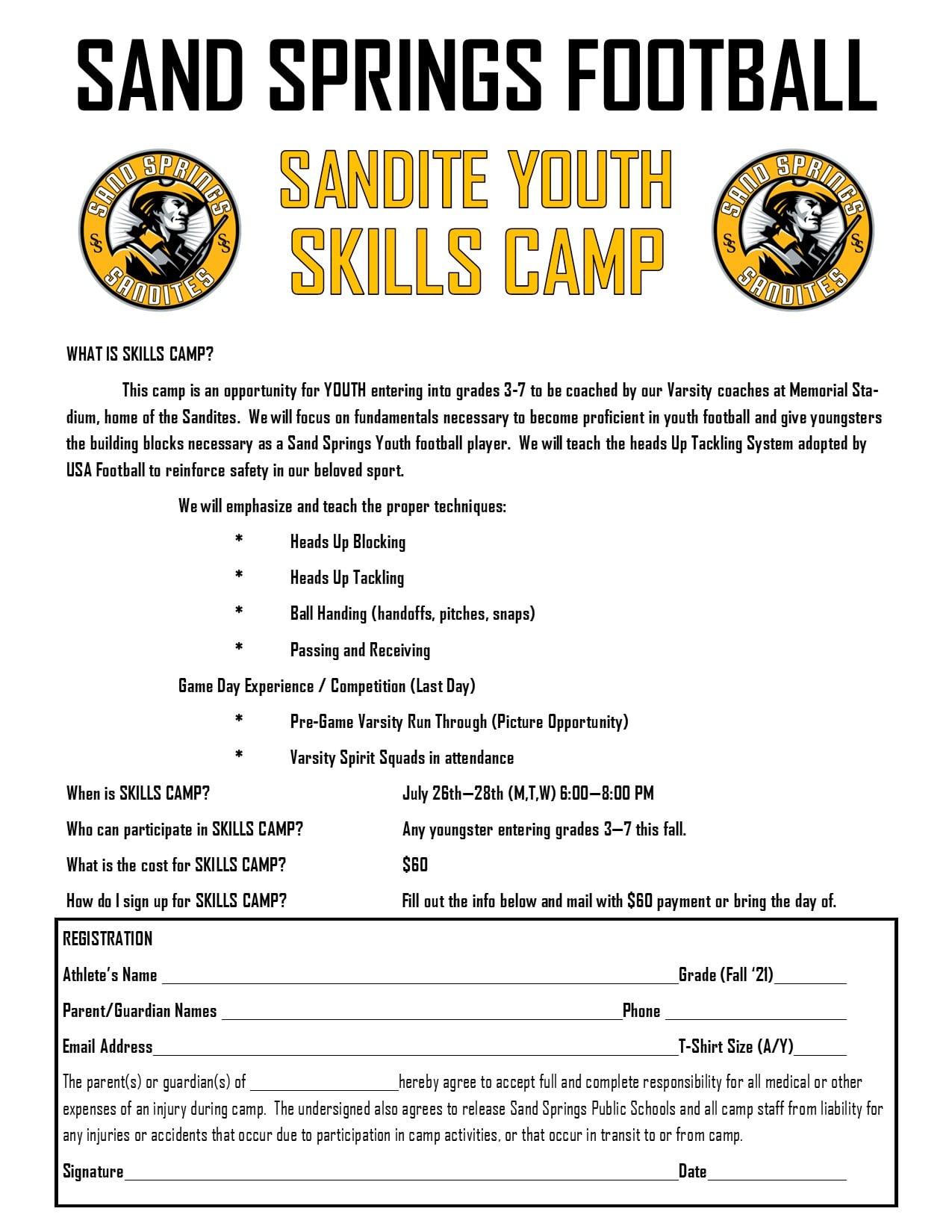SSPS Skills Camp