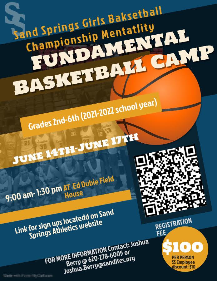SSPS Girl's Basketball Camp