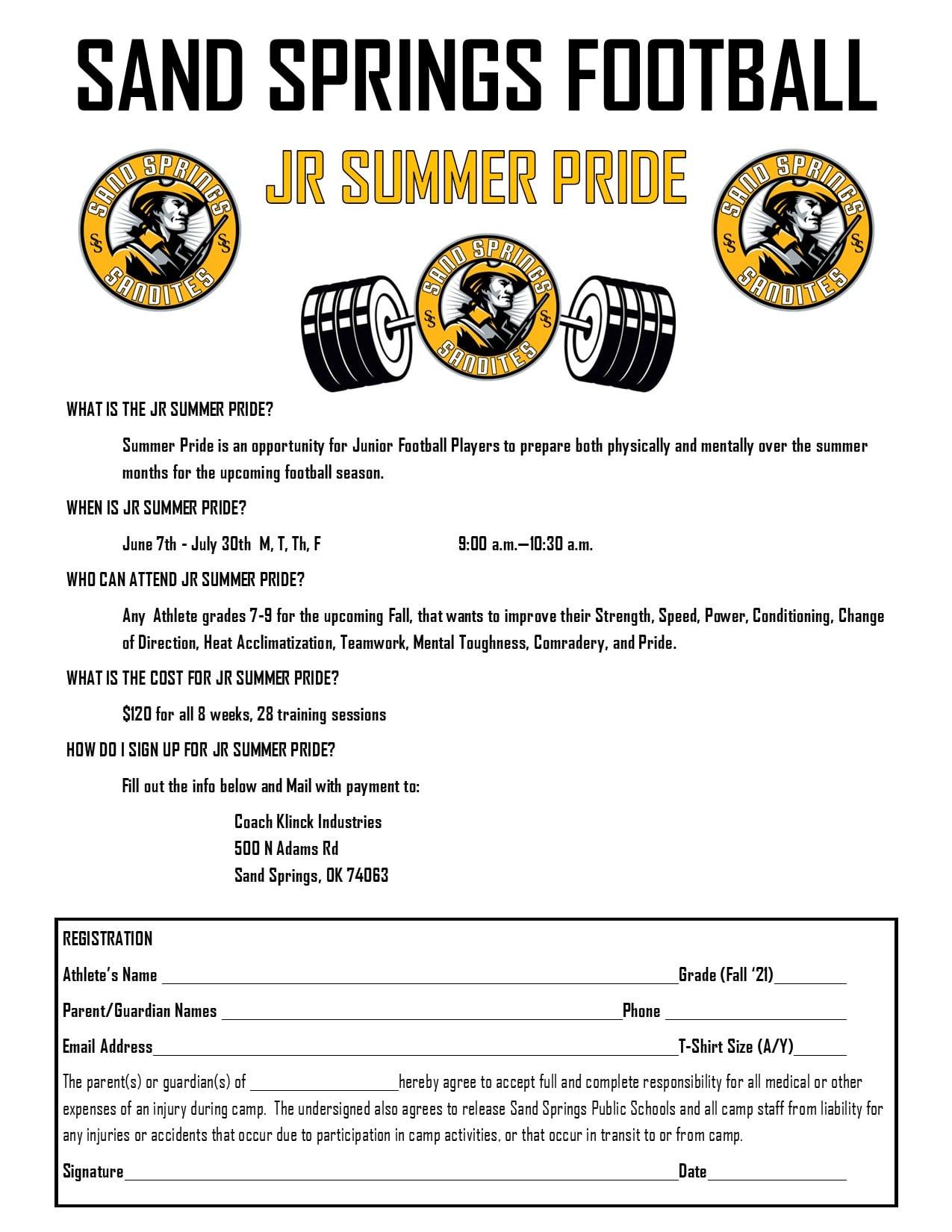 SSPS Jr. Summer Pride