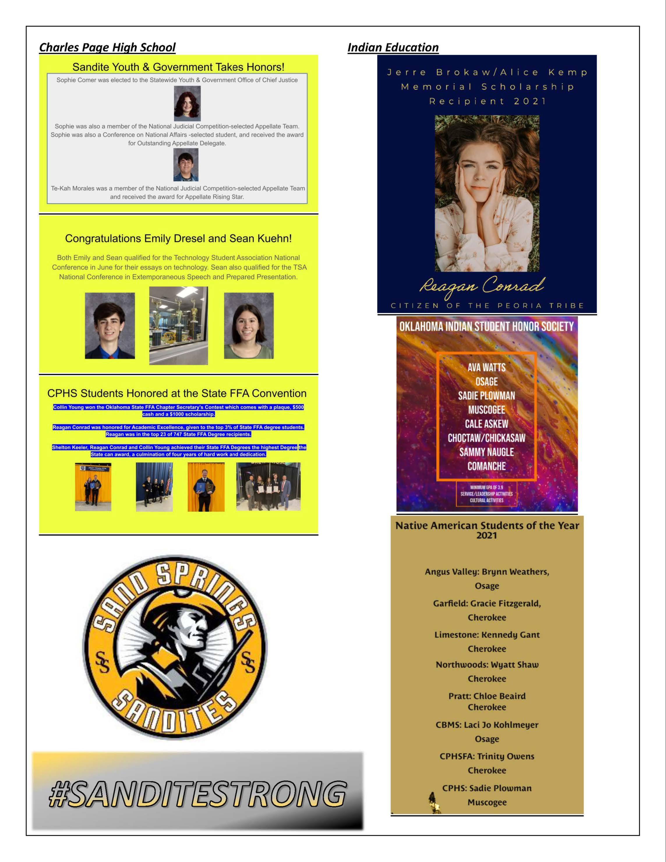 Sandite Successes Pg. 3  5-2021
