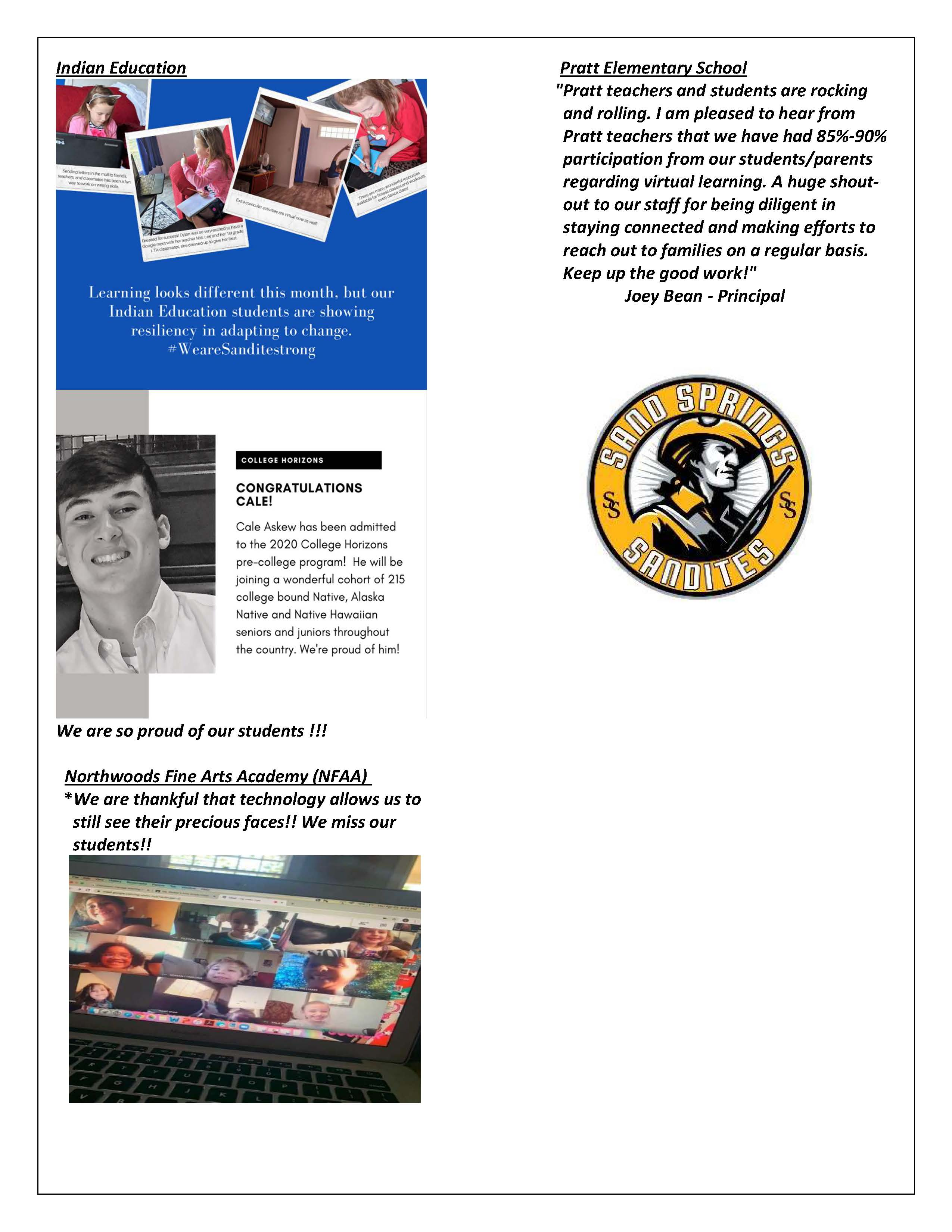 Sandite Successes Page 6