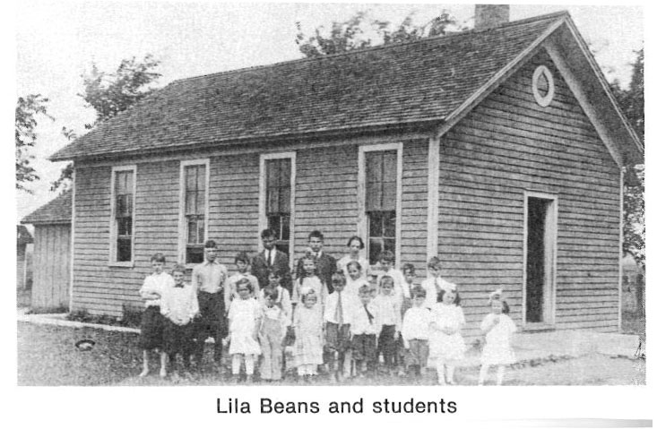 Lila Beans and students
