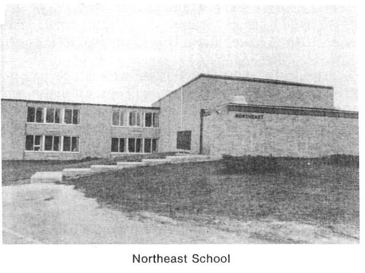 Photo of Northeast School building.