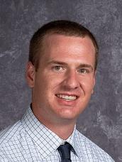 Photo of Justin Shaffer, Camanche Middle School Principal