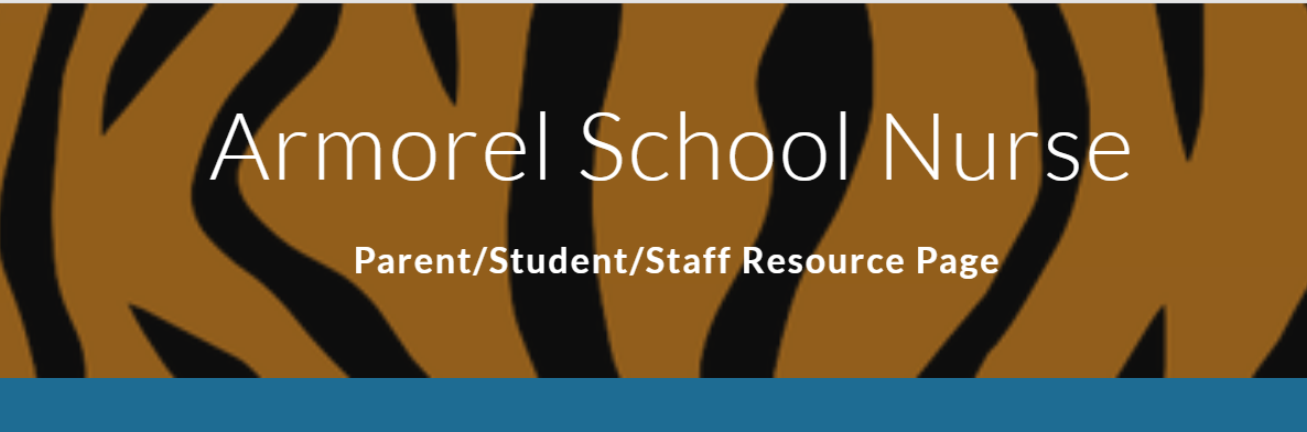 The Armorel school nurse's health webpage, get all your health re-lated information and tips.