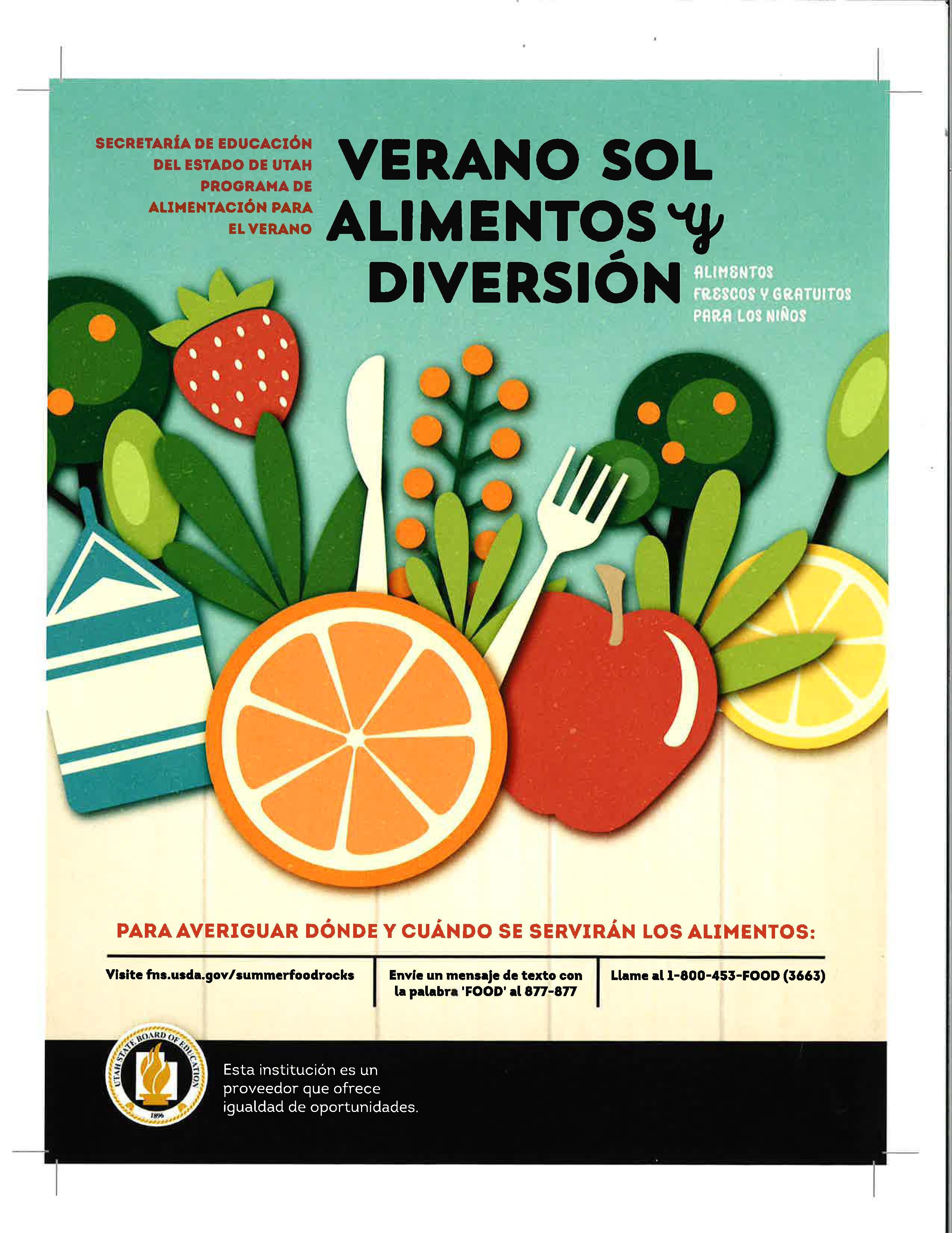 summer meal espanol