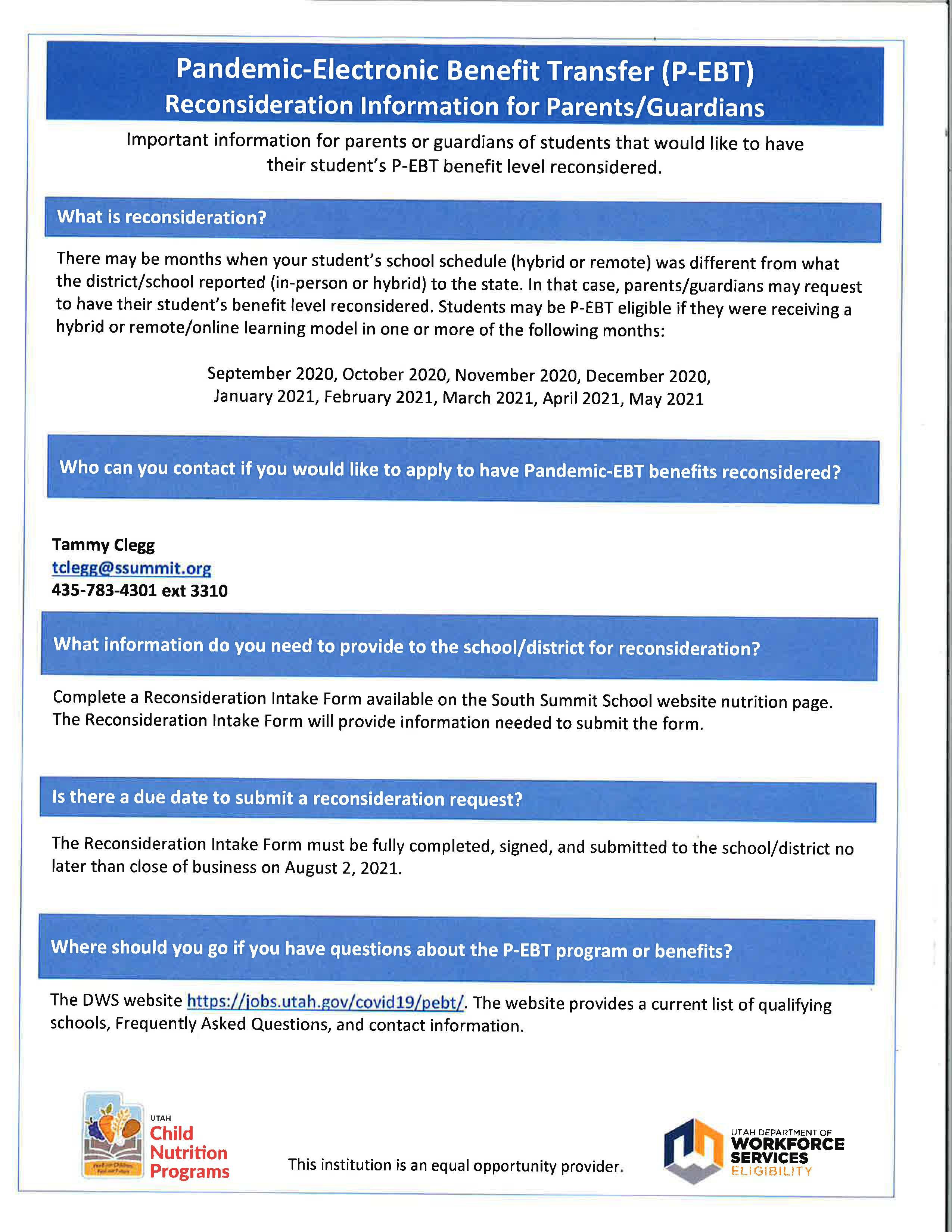 reconsideration flyer
