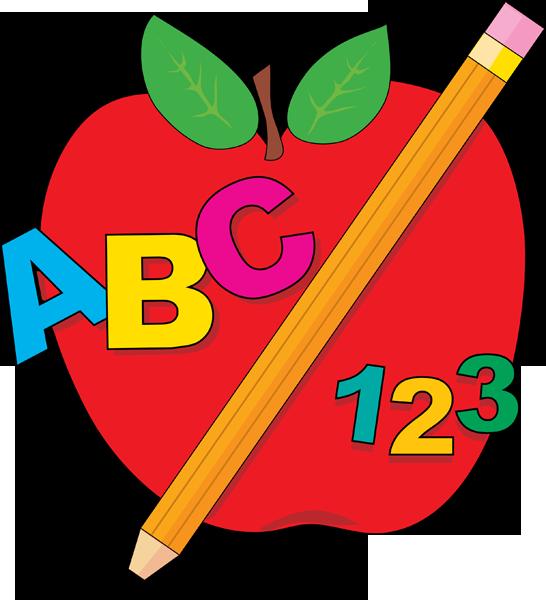 School Apple Clipart