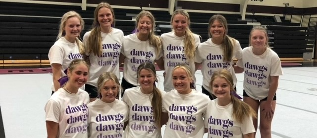 Football Cheerleaders Attend Summer Camp at Platte