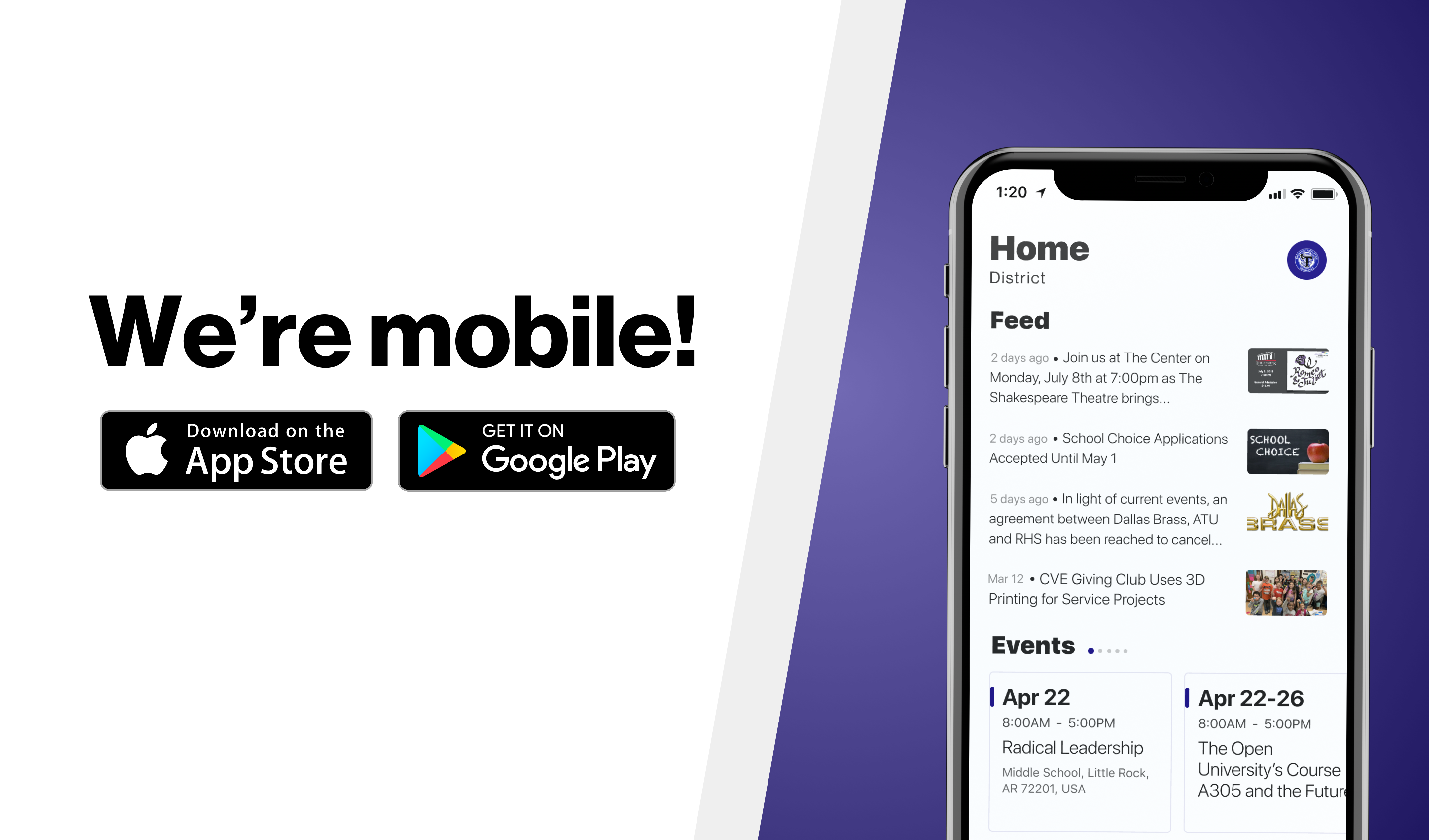 download the app!