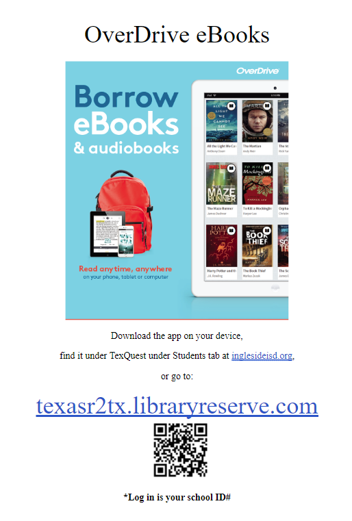 OverDrive - Download the app on your device or go to texasr2tx.libraryreserve.com