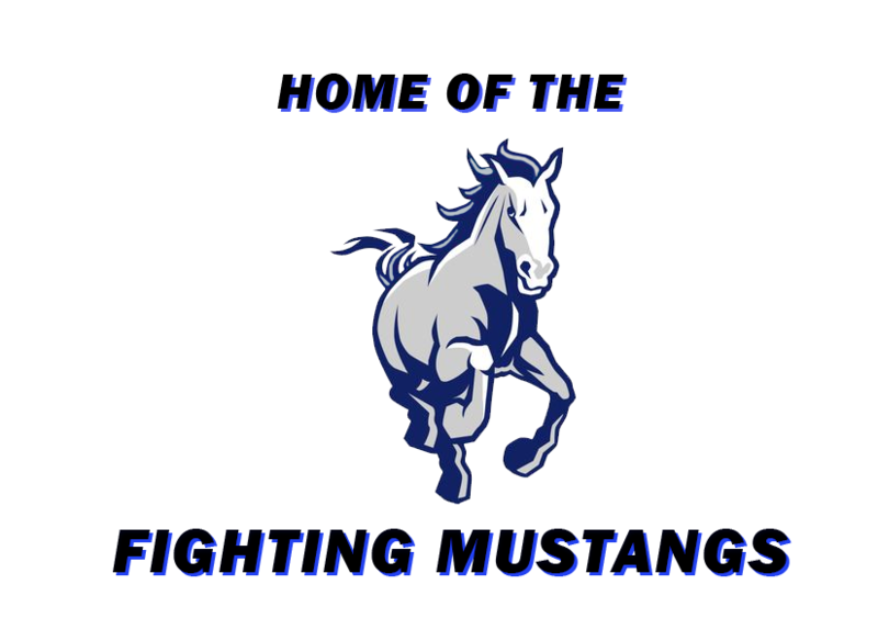 HOME OF THE FIGHTING MUSTANGS GRAPHIC