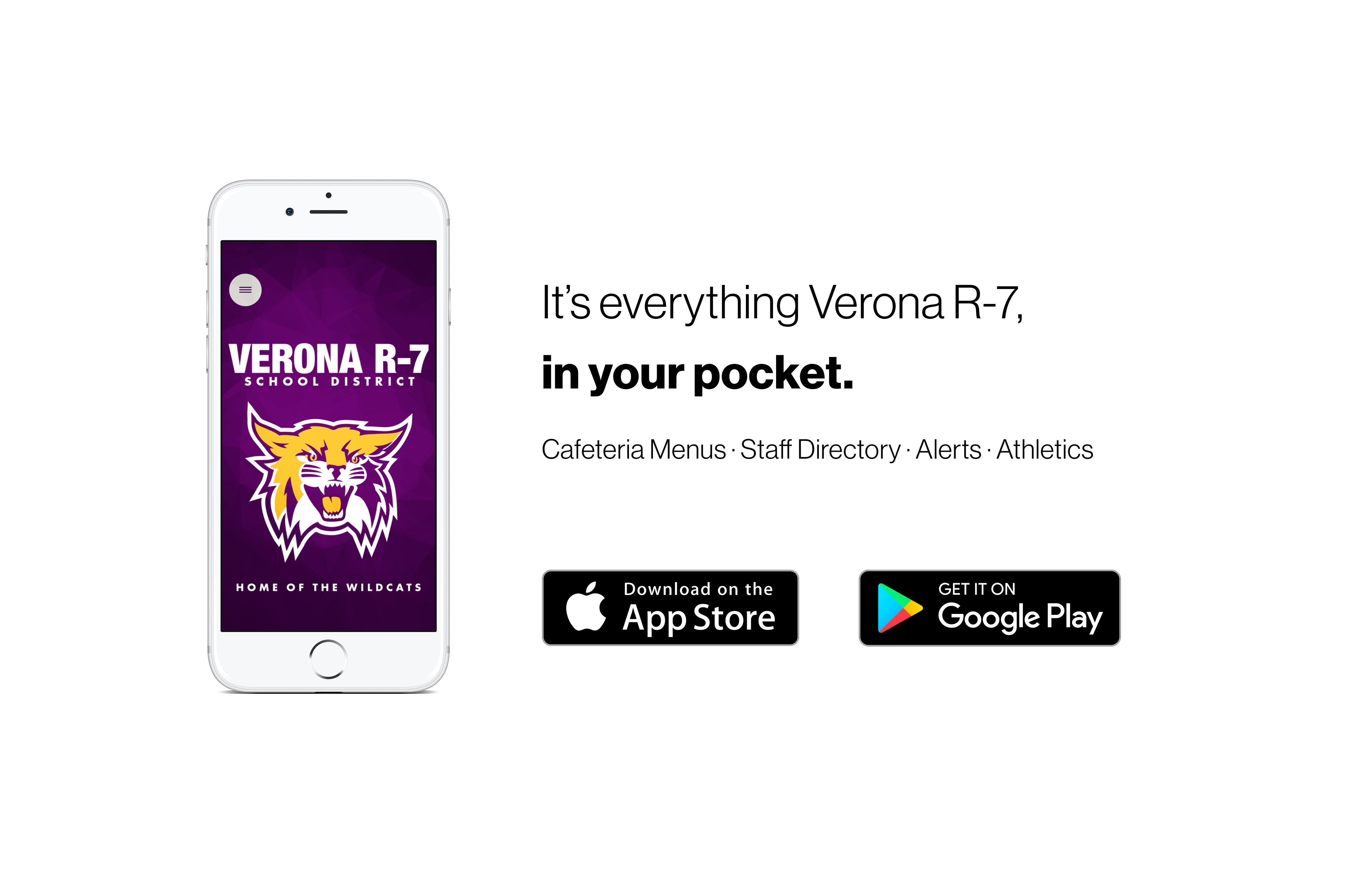 verona mobile app promo