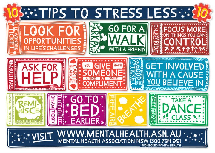 Tips to Stress Less