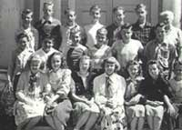 A photo of the CLASS OF '48 – 8TH GRADE.