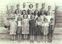 A photo of the STARR SCHOOL in 1940.