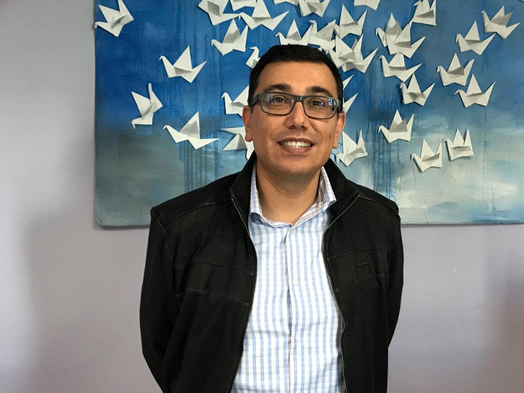 A photo of Juan Jauregui.