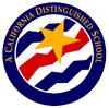 A California Distinguised School - Brooks Elementary logo.