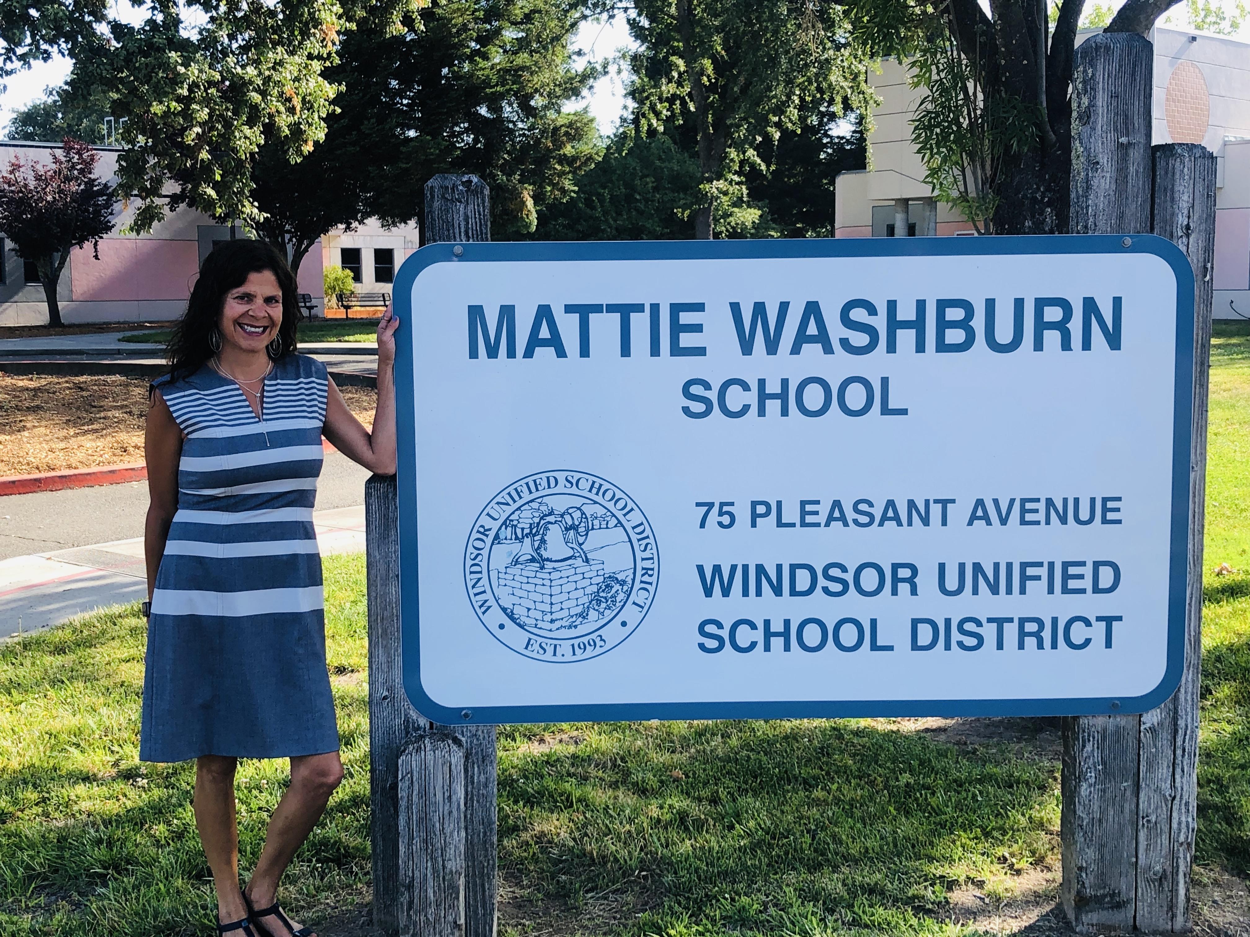 Your new Mattie Washburn Elementary Principal!
