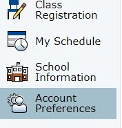 ACCOUNT PREFERENCES - OPTION