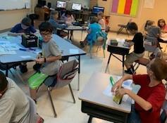 Mrs. Baker's 3rd Graders - STEM activity and Social Studies Book
