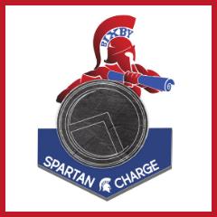 SPARTAN CHARGE LOGO.