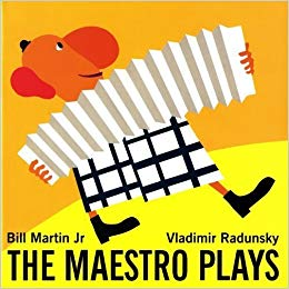 photo of a children's book named The Maestro Plays