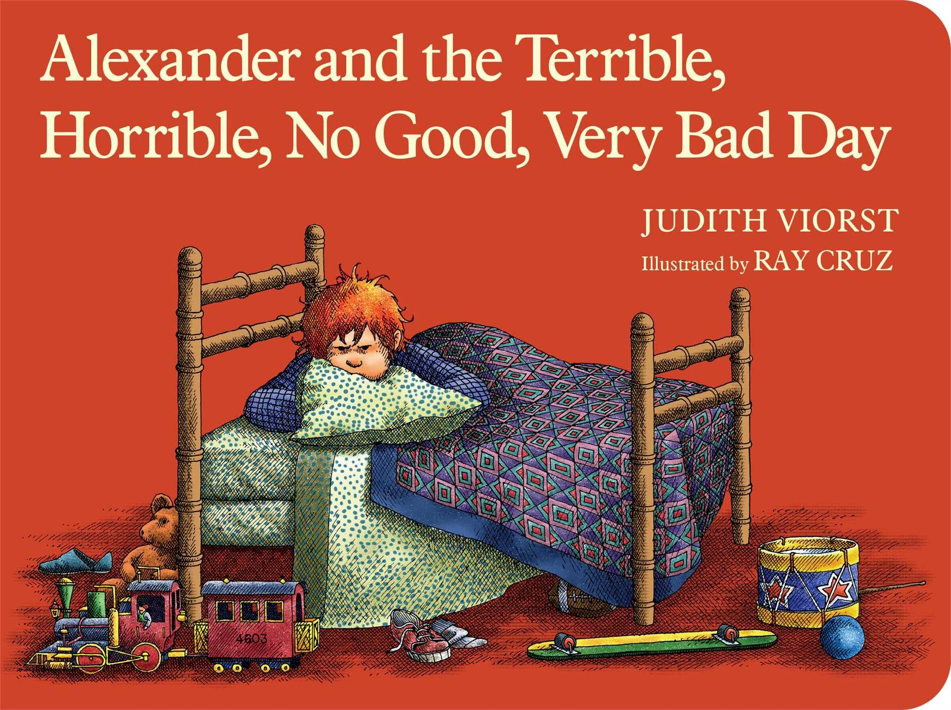 photo of a children's book called Alexander the Terrible