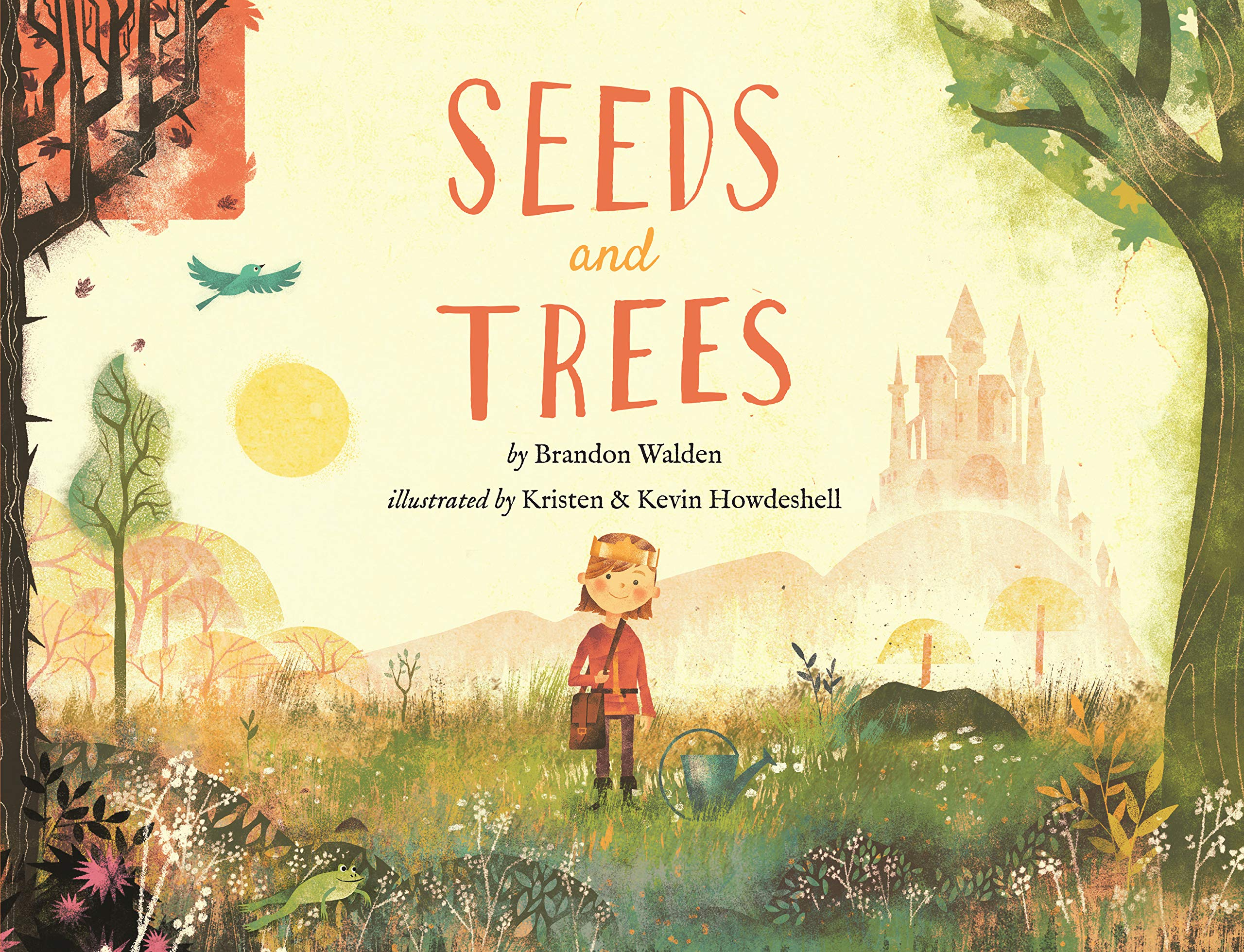 photo of a children's book called seeds and trees