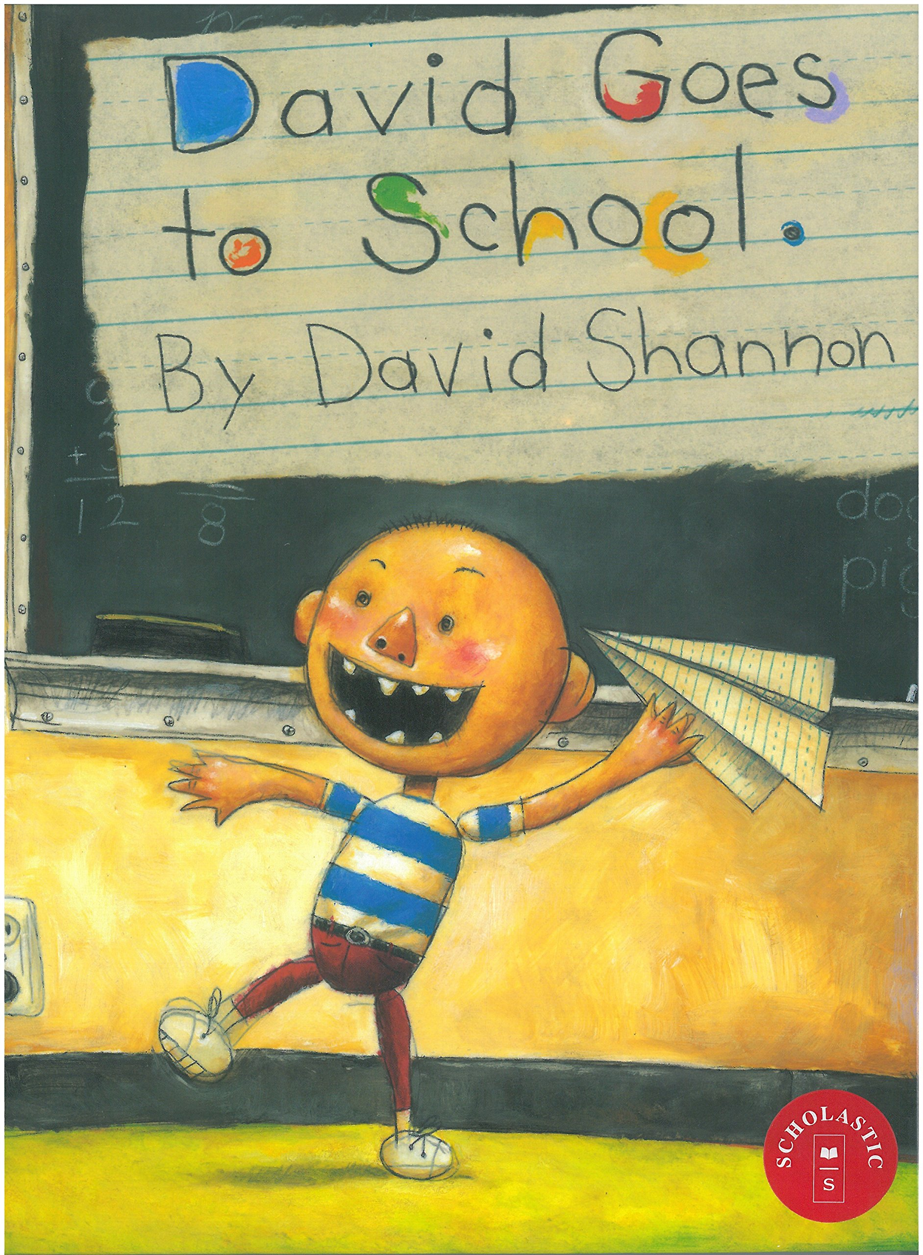"photo of the book ""David goes to school"""