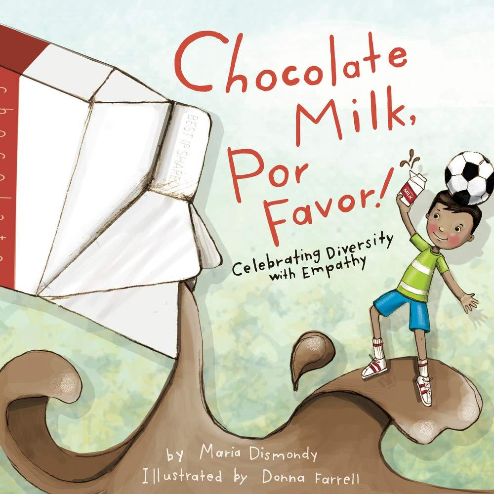 "photo of the book ""chocolate milk por favor"""