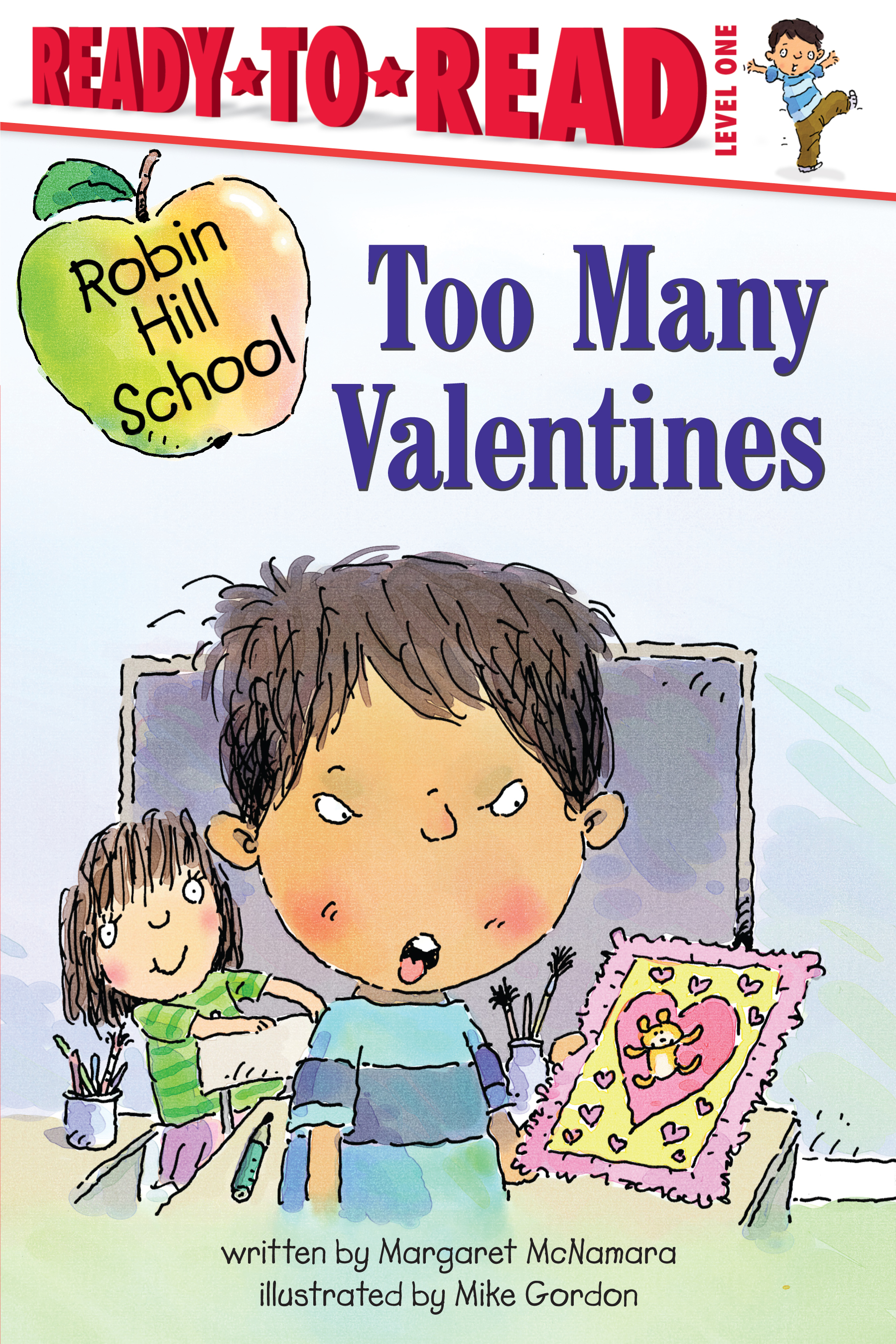 "photo of the book ""too many valentines"""