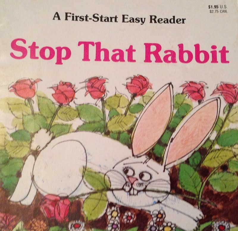 "photo of the book ""stop that rabbit"""