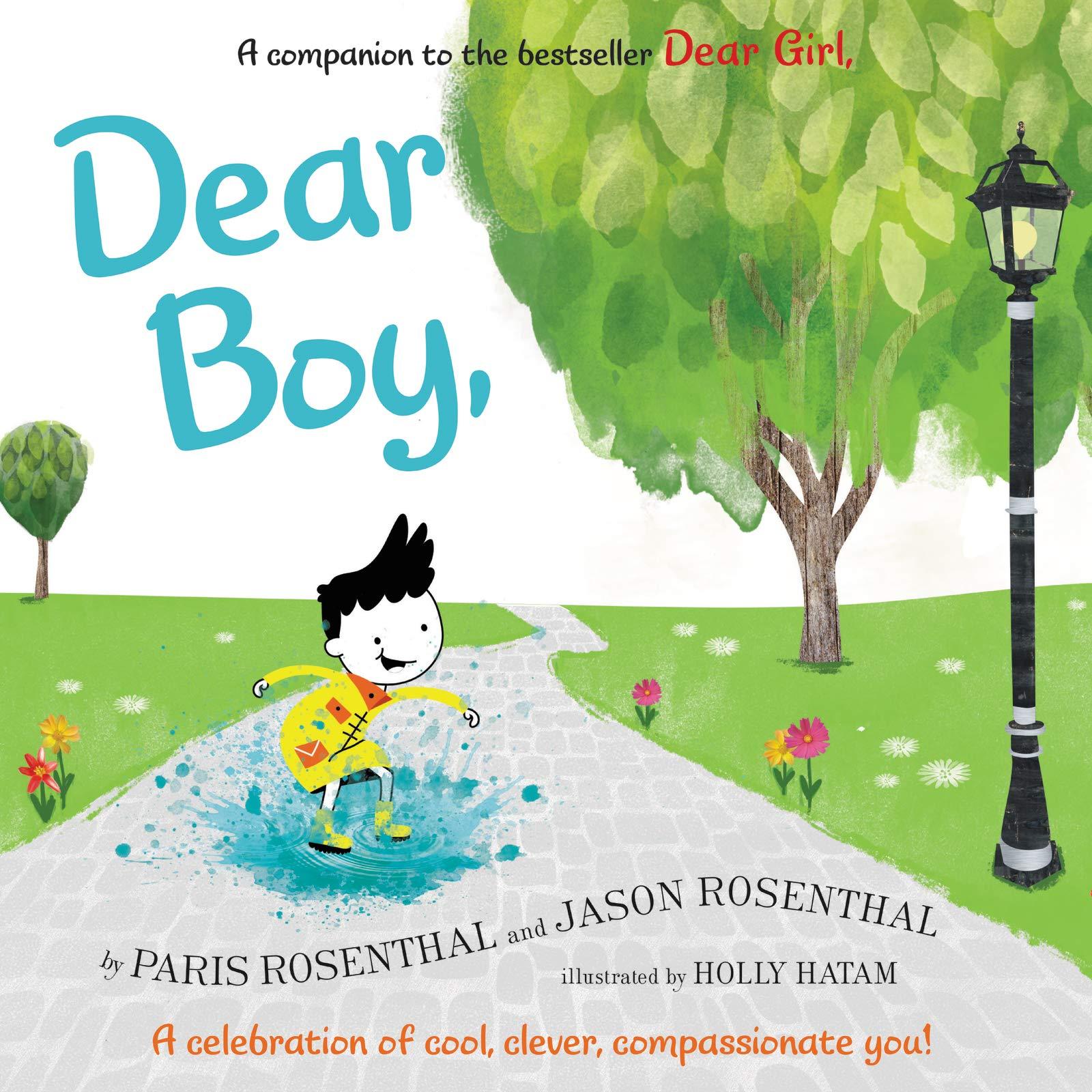 "photo of the book ""dear boy"""