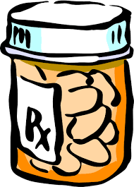 medication bottle clipart