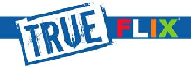 True Flix (at home) logo