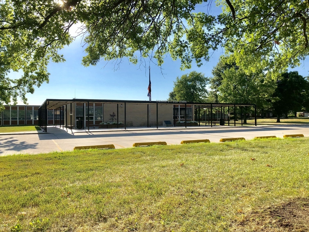 Cameron High School building