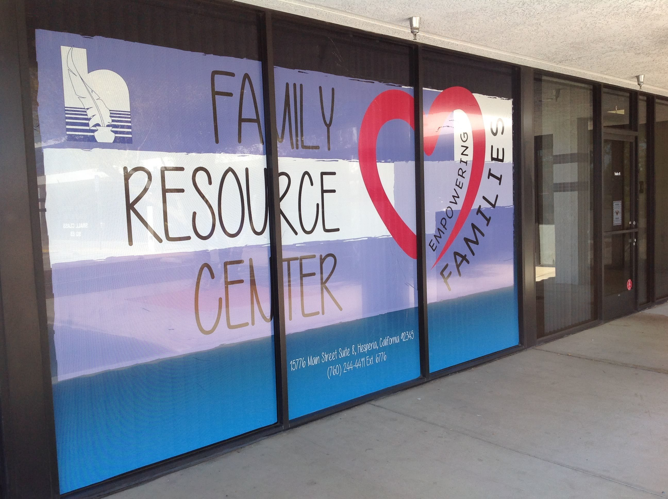 Family Resource Center Office Entrance