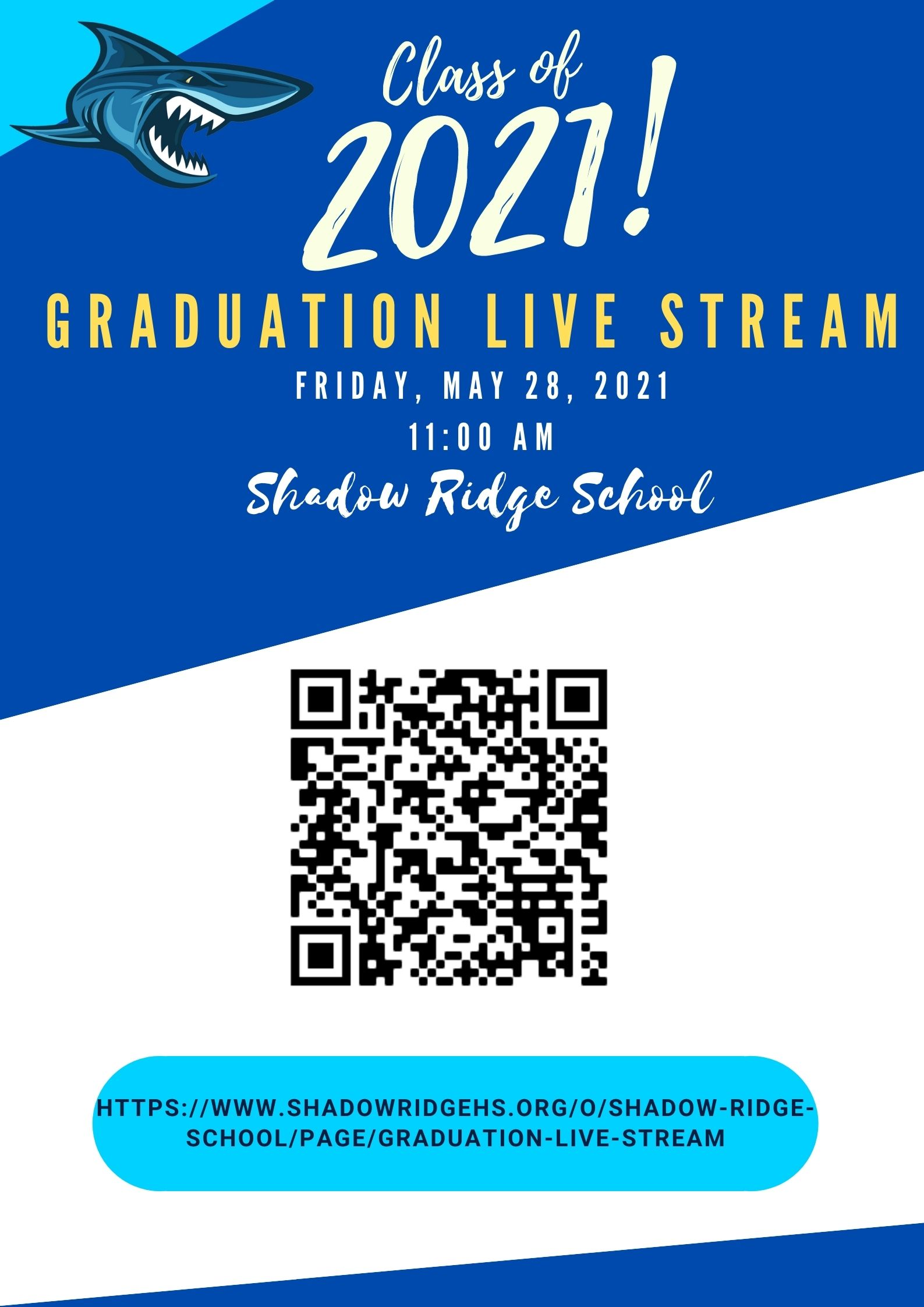 Live Feed for Graduation