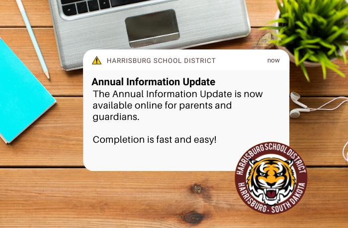 annual info update