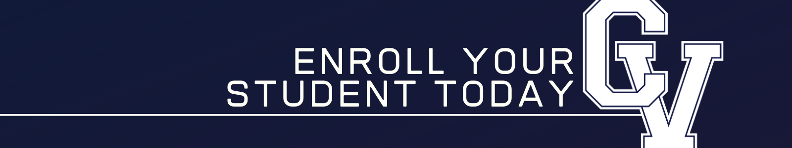 Enroll your student today