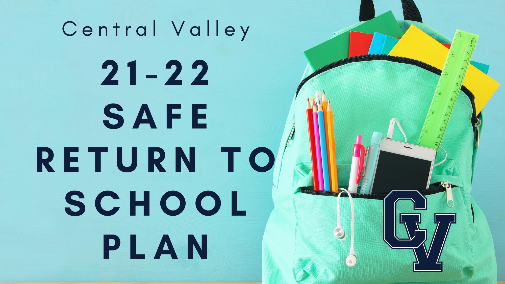 Safe Return To School Plan