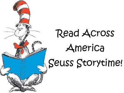 Read Across America Seuss Storytime!
