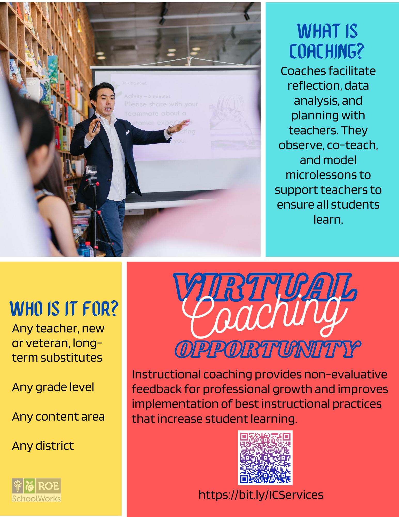 Virtual Instructional Coaching