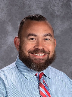 Photo of Mr. Troy Russell, Principal