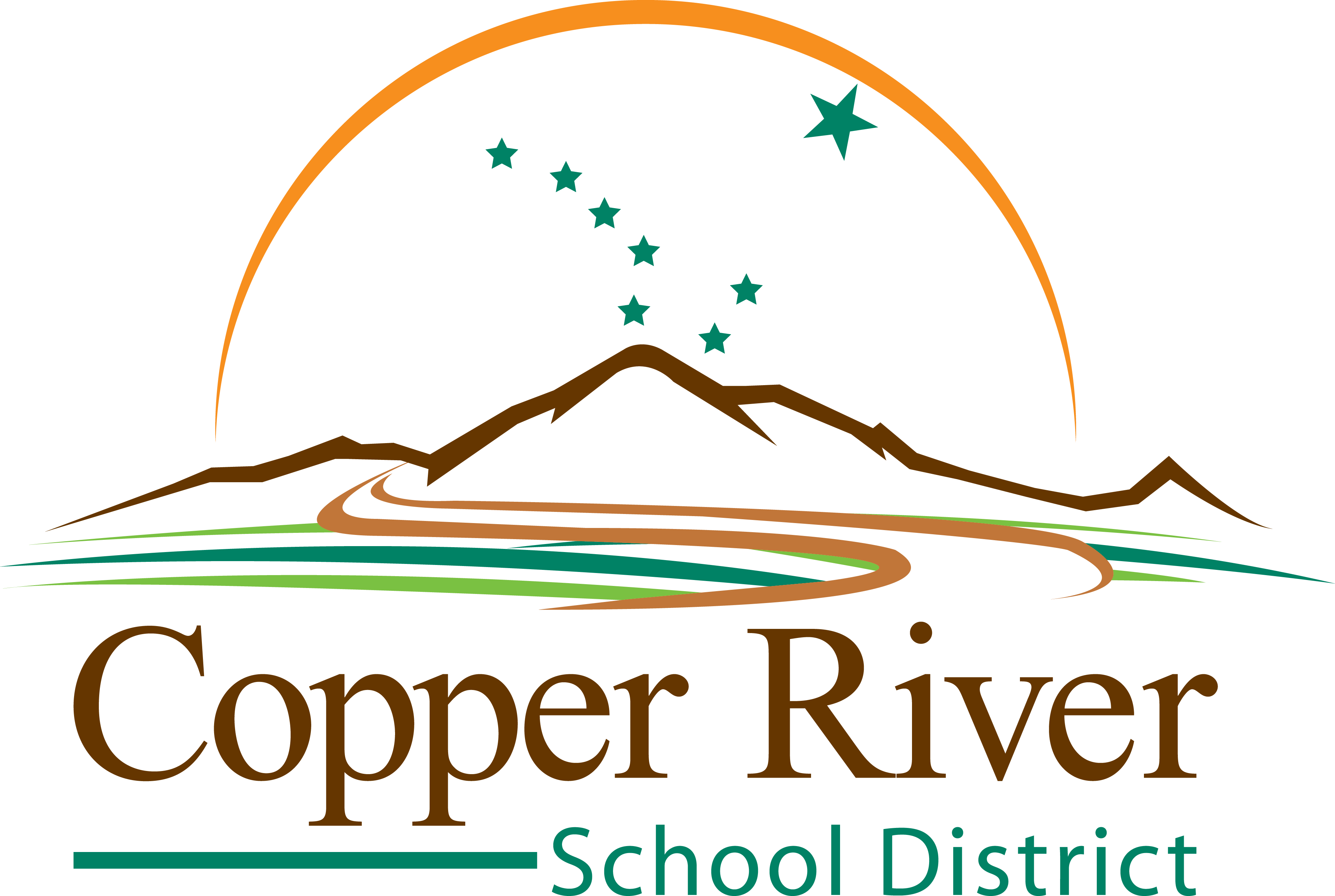 Copper River School District logo.
