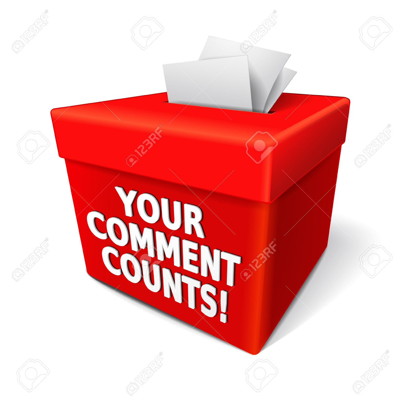 Your comment counts!