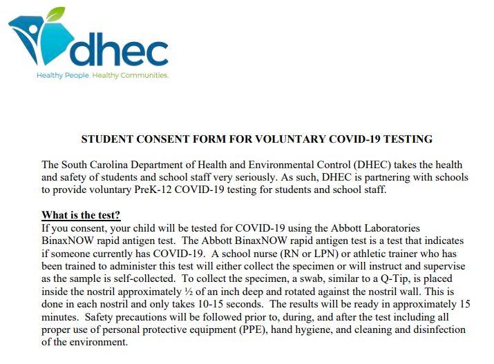 Student Consent